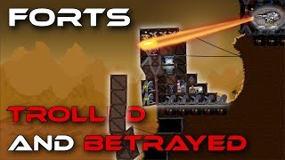 TROLLED and Betrayed! (Smurf Gameplay) - Forts RTS [75]