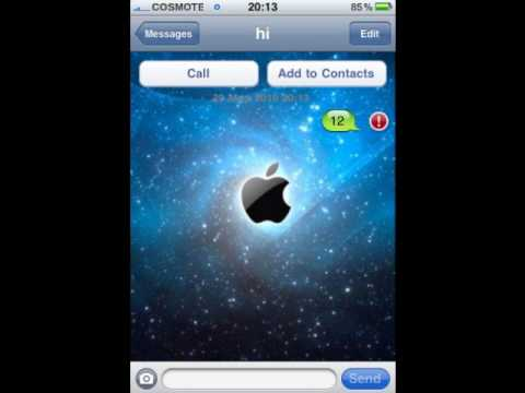 how to change iphone sms desktop background youtube