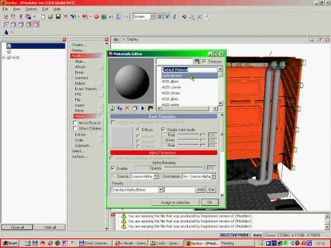Zmodeler (or zanoza modeler) is a 3d modeling application developed by oleg melashenko