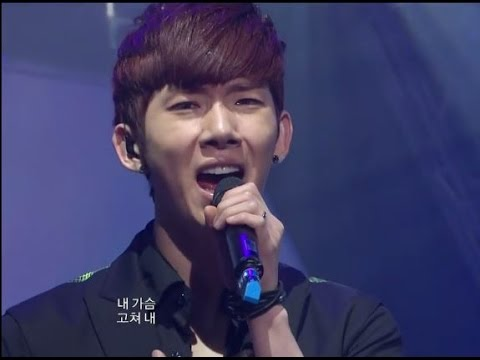 2AM - Can't Let You Go Even If I Die, 투에이엠 - 죽어도 못 보내, Music Core 20100306