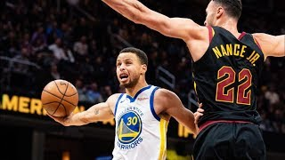 Stephen Curry 42 Points Near Triple Double vs Cavs! 2018-19 NBA Season