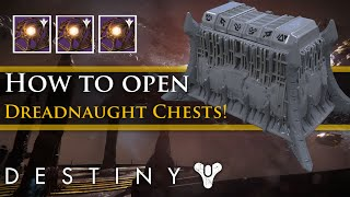 Destiny - How to open the Secret Dreadnaught chests (Hive Key Guide)