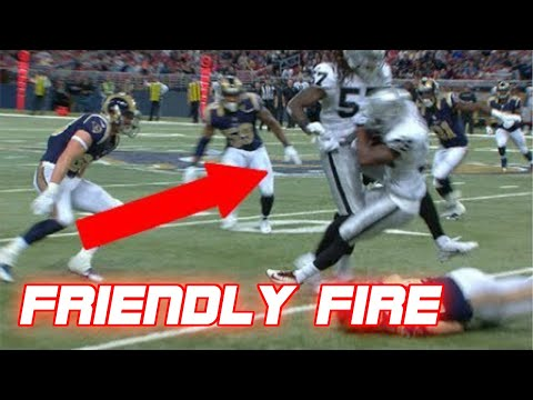 "NFL ""Friendly Fire"" Plays/Hits"