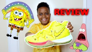 Unboxing SPONGEBOB Sneakers + Review - Playonyx