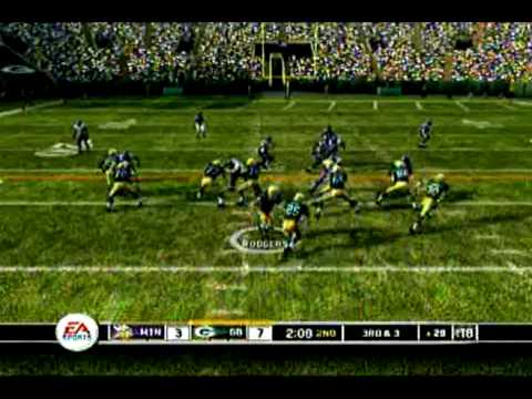 Madden '10 Predictions - Week 8 Minnesota Vikings at The Green Bay Packers - The Viking Ship Video