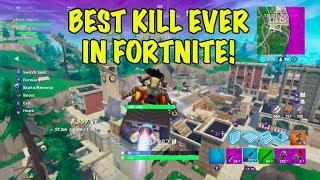 Best Kill in Fortnite! Flying Quad Crasher Kill! - Fortnite Battle Royale ft Proscittoz