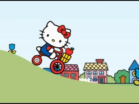 Hello Kitty City Ride - Little Girls Game Movie | video games for kids