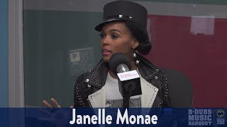 "Janelle Monae Explains Those ""Pynk"" Pants!"