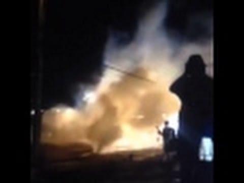 Tear Gas Ferguson Curfew views from the People Missouri
