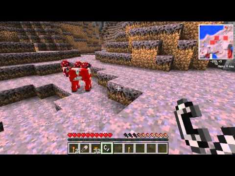 Minecraft — แกล้งพี่ยู + Mushroom Biome #1