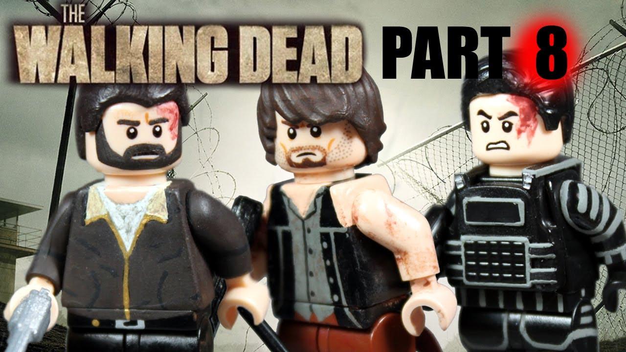 custom lego the walking dead minifigures part 8 youtube. Black Bedroom Furniture Sets. Home Design Ideas
