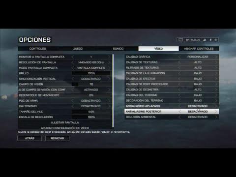 [Tutorial] Como mejorar el rendimiento en Battlefield 3 y Battlefield 4 (60+fps)