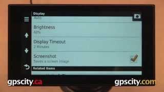 Display Settings: Garmin nuvi 2689/2789LMT & 2014 Advanced