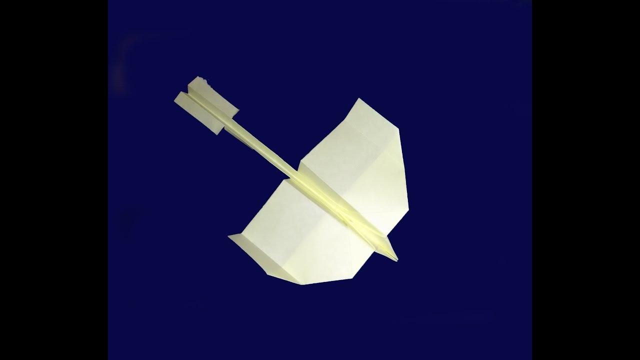 Как сделать самолёт ласточка из бумаги