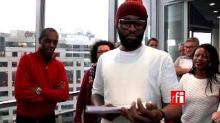 Prix Découvertes RFI 2014 : Fally Ipupa annonce la victoire de la Sénégalaise Marema