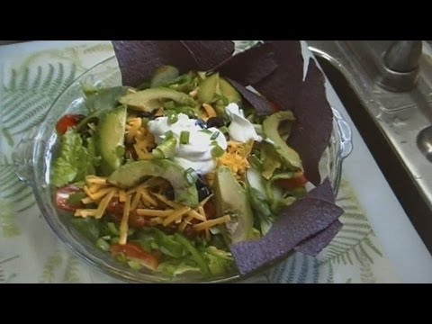 Taco Salad, Healthy, Fast and Cold! Noreen's Kitchern