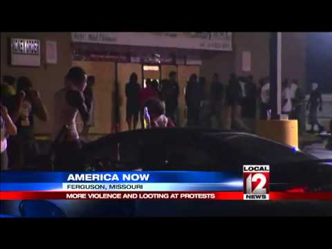 More Violence Breaks Out in Ferguson Friday Ni