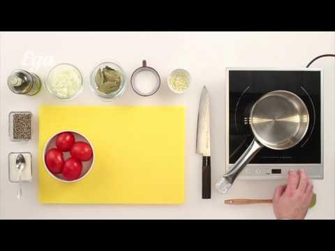 Как приготовить томатный соус - видео