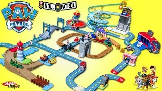 Paw Patrol Roll Patrol MEGA Pack 6 en 1 Pat Patrouille Piste Grande Vallée Jouet Toy Review