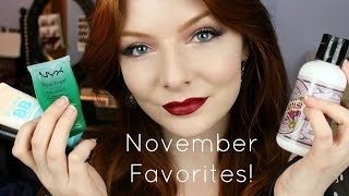 November Favorites & Fails 2015