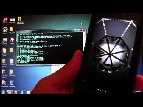 How To Use DROID RAZR Utility XT912 Jellybean To Restore And Root