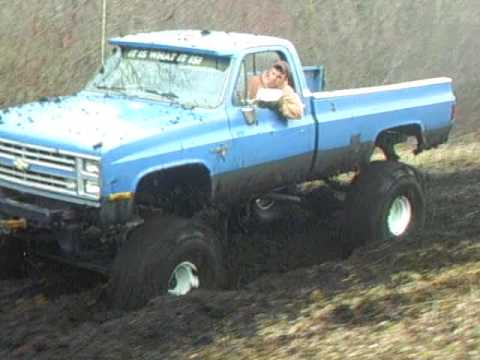"Chevy Truck Mudding 44"" Boggers"