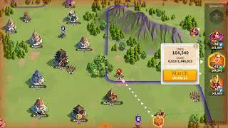 350K Teutonic Knights vs K13 Alliance! Solo fight 2.5 Million Troops death!