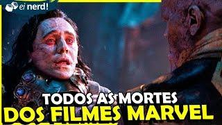 DE HOMEM DE FERRO ATÉ CAPITÃ MARVEL - TODAS AS MORTES DO UCM
