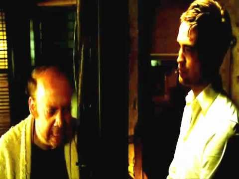 Cosmopolis 2012 Paul Giamatti and Robert Pattinson scene