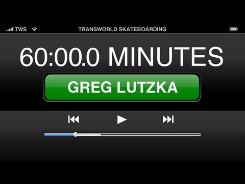 60 Minutes In The Park Greg Lutzka - TransWorld SKATEboarding