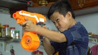 NERF GUN MONEY SHOT BATTLE
