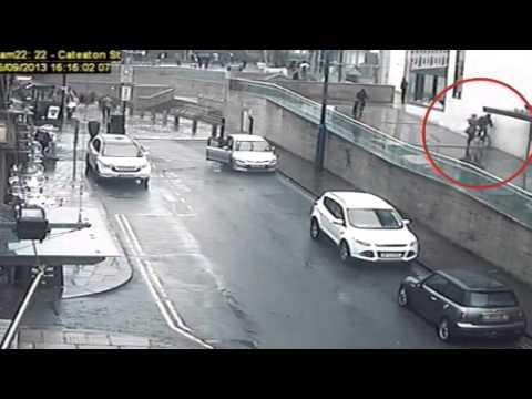 Phone Robbery CCTV