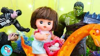 Jurassic World Dinosaurs Baby Doll Fun Story Toy