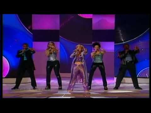 Eurovision 2000 03 United Kingdom *Nicki French* *Don't Play That Song Again* 16:9 HQ klip izle