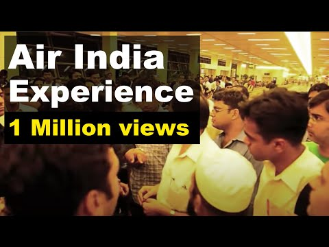 Air India Fiasco, Terminal 3, Indira Gandhi Int Airport, New Delhi. Please ignore the typos! \