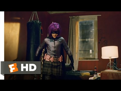 Kick-Ass (6/11) Movie CLIP - Hit-Girl Saves the Day (2010) HD