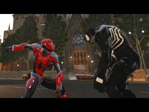 Spiderman Ends Of The Earth VS Venom - GTA 4 (MOD) HD