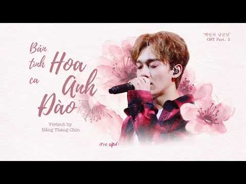 VIETSUB + KARA | Cherry Blossom Love Song - CHEN  (100 Days My Prince OST Part 3) 백일의 낭군님 OST Part 3