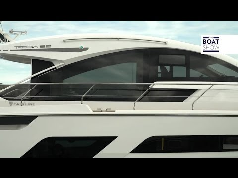 [ENG] FAIRLINE Targa 53 GT - 4K Resolution - The Boat Show