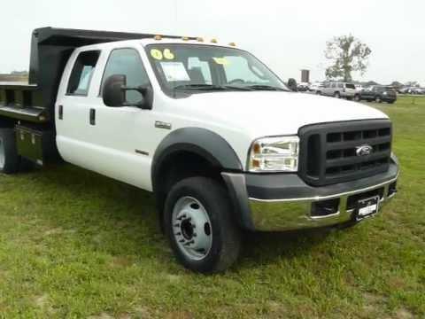 used dump truck for sale maryland ford dealer f550 powerstorke v8 diesel youtube. Black Bedroom Furniture Sets. Home Design Ideas