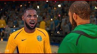 Lebron James Challenge | Revenge on Kyrie Irving by Destroying his Ankles | NBA 2k18 MyCareer #41