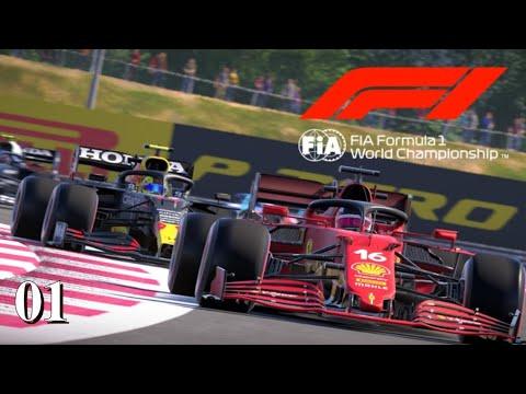 F1 2021-Braking Point #01: Und gleich zu Beginn gibt's Zoff [Let's Play][Deutsch]
