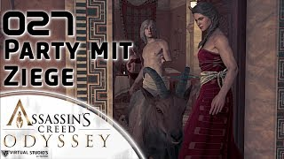 Party mit Ziege - Assassins Creed: Odyssey #027 [XBox ONE X | Let´s Play | German]