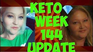 Keto week 144 ???? Weight Loss Results