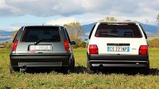Fiat Uno Turbo vs Renault 5 Gt Turbo: LE BARE! - Davide Cironi Drive Experience (SUBS)