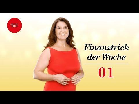 So optimieren Sie Ihre privaten Finanzen — Finanztrick 01
