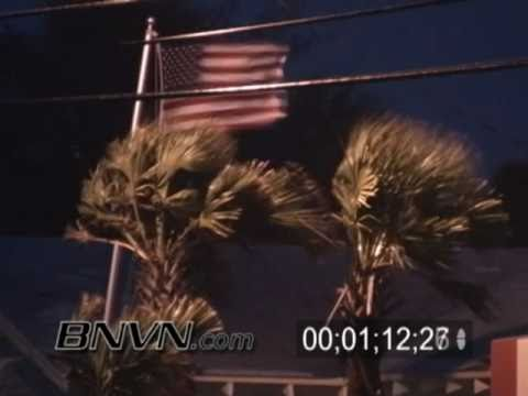 8/31/2006 Tropical Storm Ernesto footage from Carolina Beach, NC