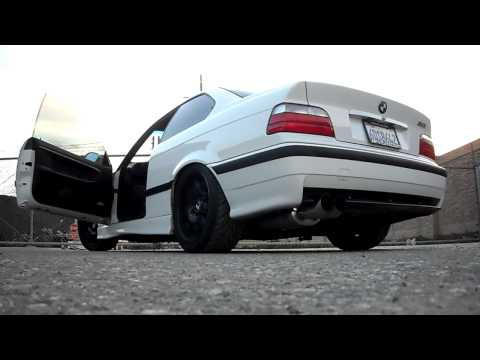 BMW E36 M3 Exhaust