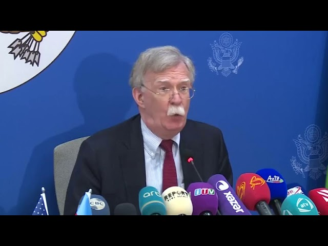 US has yet to decide on more Russia sanctions - Bolton