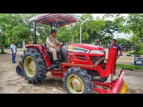รีวิวรถไถใหม่!! รถแทรกเตอร์ ยันม่าร์ YANMAR รุ่น EF514MU  51แรงม้า ใหม่เอี่ยม   Tractor